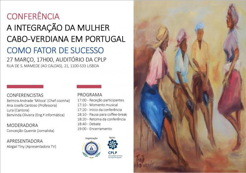 Conferência sobre integração da mulher cabo-verdiana em Portugal