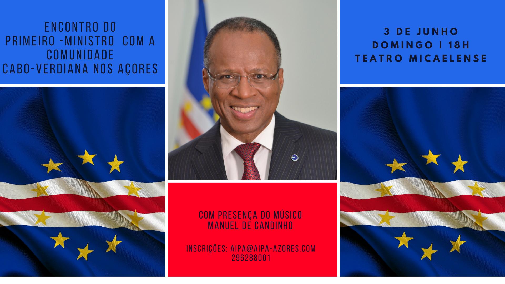 Encontro do PM de Cabo Verde com a comunidade caboverdiana