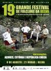 Grupos de Folclore da Estónia e República Checa na Relva