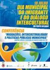 Dia Municipal do Imigrante e do Diálogo Intercultural