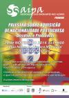 Palestra sobre aquisição de nacionalidade portuguesa - Problemas e desafios