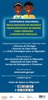 Campanha para Crianças Indocumentadas de Cabo Verde em Portugal