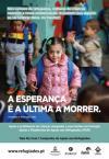 12 fotografias de 12 crianças refugiadas em exposição nas ruas de Lisboa