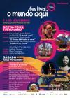 Programa do Festival o Mundo Aqui