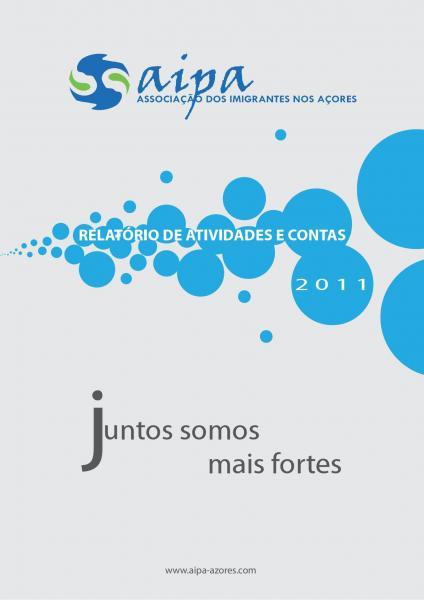 Relatório de atividades e contas de 2011